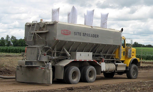 Stoltz Truck Mounted Cement Spreader