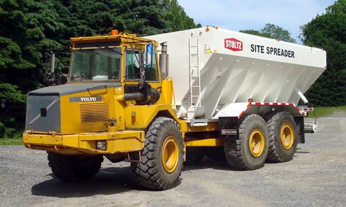 Stoltz Custom Cement Spreaders